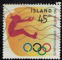 Islande 1996 Oblitéré Used Jeux Olympiques Atlanta Saut En Longueur SU - Oblitérés