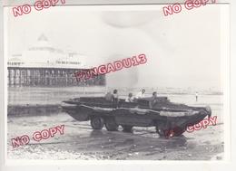 Au Plus Rapide Eastbourne Engin Amphibie Année 1975 Beau Format - Automobili