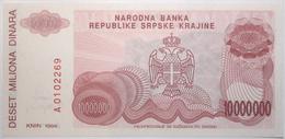 Croatie - 10000000 Dinara - 1994 - PICK R34a - NEUF - Kroatië