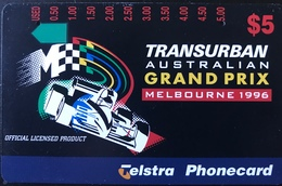 AUSTRALIE  -  Telstra   -  Transurban Australian Grang Prix  -  $ 5 - Australia