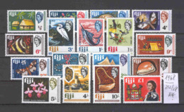 FIDSCHI-INSELN -   212/28  Freimarken 1968  Kpl.postfr - Fiji (...-1970)