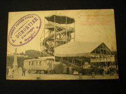EPINAL - FOIRE - A. DUMORTIER CONSTRUCTEUR - GRAND TOBOGGAN FRANCAIS 1909 - Epinal