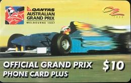 AUSTRALIE  -  QANTAS   - Payphone -  Australian Grand Prix  -  $ 10 - Australia