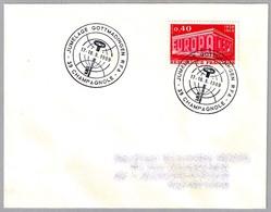 Hermanamiento CHAMPAGNOLE (Francia) Y GOTTMADINGEN (Alemania) - Jumelage. Champagnole 1969 - Postzegels