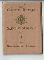Carnet Photos 1945 Famille Royale Belgique 1945 A Saint-wolfgang (rare) !!! - 1939-45