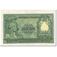 Billet, Italie, 50 Lire, 1951, 1951-12-31, KM:91a, TTB - 50 Lire