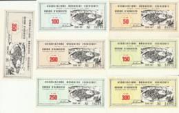 SERIE 7 FDS BUONI ACQUISTO ASS NOVARESE ESERCENTI (YM651 - [10] Cheques Y Mini-cheques