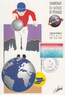 Carte  FRANCE   Championnat  Du  Monde  De  Pétanque   CLERMONT  FERRAND   1994 - Bowls