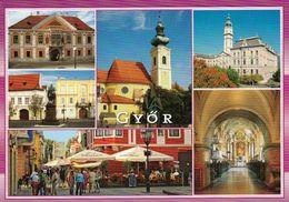 1 AK Ungarn / Hungary * Sehenswürdigkeiten Der Stadt Györ * - Hongrie