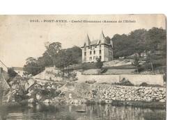 PONT AVEN (Finistère), Le Castel Glouannec (ou Gloannec) - Annexe De L'Hôtel, Vue Rare - Pont Aven
