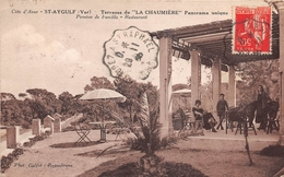 SAINT AYGULF - Terrasse De LA CHAUMIERE  - Restaurant - Panorama Unique - Saint-Aygulf