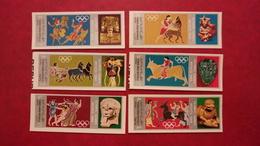 Yemen North Aden Saudi Arabia 1968 - Summer Olympic Games Mexico - Imperf Deluxe Values MNH - Sports Mi 784-789 Rare - Yemen