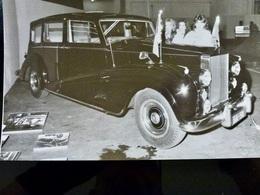 Photo PRESSE Originale Vintage : ROLLS ROYCE _ Voiture _ Automobile - Cars