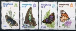 Hong-Kong       Papillons    347/350 ** - Butterflies