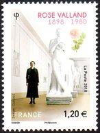France N° 5267 ** Rose Valland - Sauveteuse D'oeuvres D'arts Pendant La Seconde Guerre Par L'occupant - Neufs