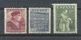 ESPAÑA  EDIFIL   1002/4   MH  * - 1931-Hoy: 2ª República - ... Juan Carlos I