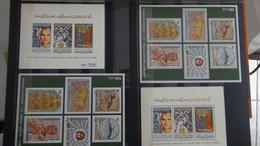 D88 Collection Blocs, Carnets Et Timbres ** De Différents Pays Dont Beaucoup De Tunise**  A Saisir !!! - Postzegels