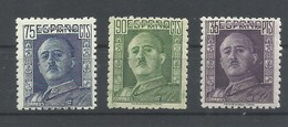ESPAÑA  EDIFIL   999/1001   MNH  ** - 1931-Hoy: 2ª República - ... Juan Carlos I