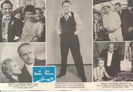 POSTAL A0668: Orson Welles En Ciudadano Kane - Autres Collections
