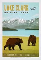 LAKE CLARK  - National Park - Alaska Bear Ours Hydravion - 100th Anniversary (1915 - 2015) - Bears