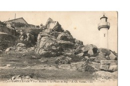PONT AVEN (Finistère), Port Manech - Le Phare De Beg - A. Ch. Vechan - Pont Aven