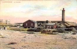 Egypt Egypte Alexandrie  Le Phare Vuurtoren Lighthouse Apotheek Camille Libotte Botermarkt Ieper     M 3308 - Alexandria