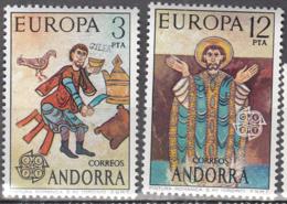 Andorra 89 à 90 ** - Ungebraucht