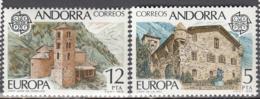 Andorra 108 à 109 ** - Ungebraucht