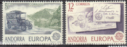 Andorra 116 à 117 ** - Ungebraucht