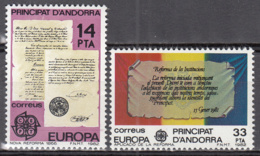Andorra 146 à 147 ** - Ungebraucht