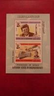 Kathiri Seiyun Yemen Aden Saudi Arabia 1967 - Space History - Perf Sheet Mi 16A MNH - Cosmos Moon Astronauts Apollo - Yemen