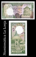 Sri Lanka 10 Rupees 1989 Pick 96c SC UNC - Sri Lanka
