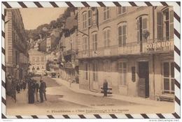 3AE132 PLOMBIERES  L HOTEL RESAL CORNUOT ET LA RUE STANISLAS   2 SCANS - Plombieres Les Bains
