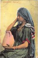 Egypt Egypte Alexandrie Native Girl   Anno 1908   M 3316 - Alexandria