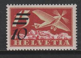 Schweiz / 1935 / Mi. 285a (Aufdruck Glaenzend) ** (BK47) - Nuevos