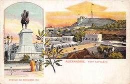 Egypt Egypte Alexandrie Statue De Mohamed Ali , Fort Napoléon   M 3318 - Alexandria