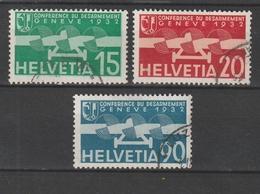 Schweiz / 1932 / Mi. 256-258 Gestempelt (BK48) - Nuevos