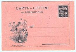 Carte Lettre De L'espérance Neuve - Guerre 1914-18