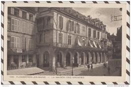 3AE133 PLOMBIERES  LES BAINS LA MAISON DES ARCADES   2 SCANS - Plombieres Les Bains