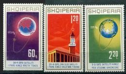 ALBANIA 1971 - CHINA EN EL ESPACIO - YVERT Nº 1304/1306** - Albania