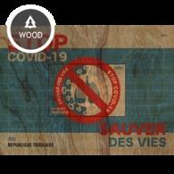 Togo 2020, Anti Covid-19, Wood BF - Disease