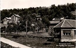 Kuranstalt Ländli Mit Pavillon Am Aegerisee (02056) * 14. 10. 1943 - ZG Zoug