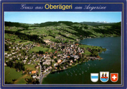 Gruss Aus Oberägeri Am Aegerisee (4417) * 12. 11. 2007 - ZG Zoug