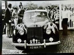 Photo PRESSE Originale Vintage : ROLLS ROYCE Silver Cloud _ Voiture _ Automobile - Cars