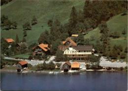 Flugaufnahme Gasthaus Eierhals - Morgarten ZG (8396) - ZG Zoug