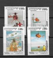 1996 MNH Cambodia - Airplanes