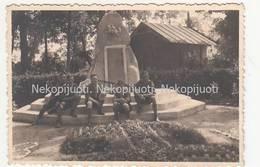 Lietuva, Paminklas, Skautai, Apie 1930 M. Fotografija. Mažo Formato - Lituanie