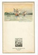 Ancien MENU De 1953 M.S.ALBERTVILLE Compagnie Maritime Belge - Menus