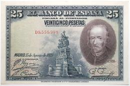 Espagne - 25 Pesetas - 1928 - PICK 74b - SPL - [ 1] …-1931 : Primeros Billetes (Banco De España)