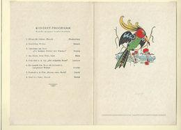 """Ancien MENU Avec Programme Concert De 1934 """" Transatlantique CAP ARCONA """" - Menus"""